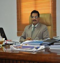 Gopinath Shetty - General Manager